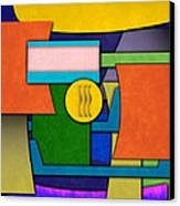 Abstract Shapes Color One Canvas Print by Gary Grayson