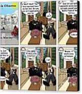 Achtung Amerika Canvas Print