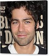Adrian Grenier At Arrivals For True Canvas Print