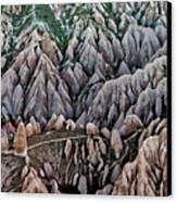 Aerial View Landscape Canvas Print by Julio López Saguar