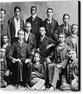 African American Academic Students Canvas Print by Everett