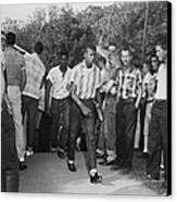 African American Students Arrive Canvas Print by Everett