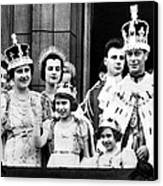 After Coronation Ceremonies, The Royal Canvas Print by Everett