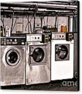 After Enlightenment The Laundry. Canvas Print by Gwyn Newcombe