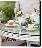 Afternoon Tea And Cakes Canvas Print