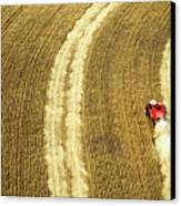 Agricultural Harvesting Maize Canvas Print by Marcos Alves
