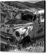 Air Conditioned By Bullet Canvas Print