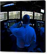 Air Traffic Controller Watches Canvas Print