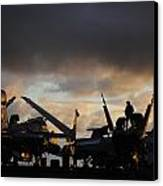 Aircraft Carrier Canvas Print by Ahp