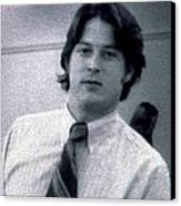 Al Gore At 22 Years Old Canvas Print by Everett