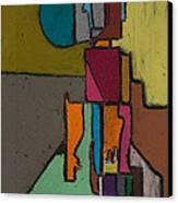 Al Trabajo Canvas Print by Jaime Rodriguez-raigoza