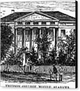 Alabama: Emerson College Canvas Print