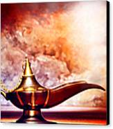 Aladdin Lamp Canvas Print by Olivier Le Queinec