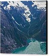 Alaska Coastal Canvas Print by Mike Reid