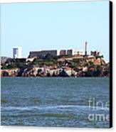 Alcatraz Island In San Francisco California . West Side . 7d14031 Canvas Print by Wingsdomain Art and Photography