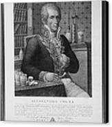 Alessandro Volta, Italian Physicist Canvas Print by Omikron