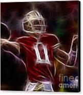 Alex Smith - 49ers Quarterback Canvas Print by Paul Ward