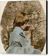 Alice Liddell, Alices Adventures Canvas Print by Science Source