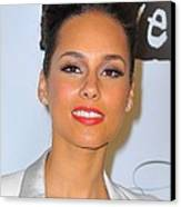 Alicia Keys At Arrivals For Keep Canvas Print by Everett