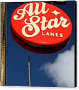 All Star Canvas Print by Jez C Self