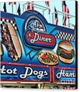 Al's All American Diner Canvas Print