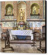 Altar At Mission La Purisima State Canvas Print
