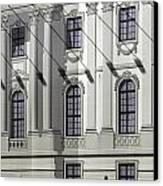 Alte Bibliothek Canvas Print