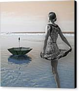 Always Looking To The Light Canvas Print by Betsy Knapp