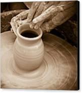 Amazing Hands Iv Canvas Print