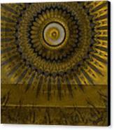 Amber Wheel I Canvas Print by Ricki Mountain
