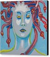 Americaine Medusa Canvas Print by Jay Manne-Crusoe