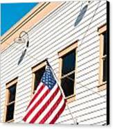 American Flag Canvas Print by Tom Gowanlock