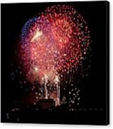 America's Celebration Canvas Print by David Hahn