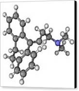 Amitriptyline Antidepressant Molecule Canvas Print by Laguna Design