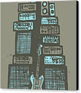 Ampliphones Canvas Print by A Hornsby