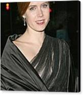 Amy Adams At Arrivals For The 2008 Canvas Print