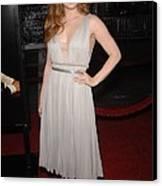 Amy Adams Wearing A J. Mendel Dress Canvas Print by Everett