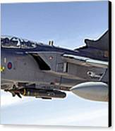 An Raf Tornado Gr-4 Takes On Fuel Canvas Print by Stocktrek Images
