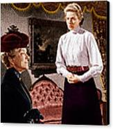 Anastasia, From Left Helen Hayes Canvas Print