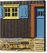 Ancient Frontage Canvas Print by Heiko Koehrer-Wagner