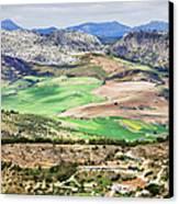 Andalucia Countryside Canvas Print by Artur Bogacki