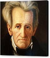 Andrew Jackson, 7th American President Canvas Print