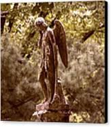Angel In Tears Canvas Print by Kelly Rader