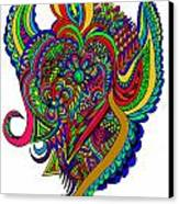 Angel Canvas Print by Karen Elzinga