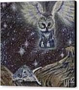 Angel Of Death Canvas Print by Thomas Maynard