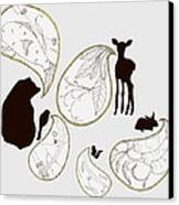 Animal Sounds Canvas Print by Marcia Wood