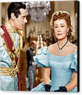 Anna And The King Of Siam, From Left Canvas Print
