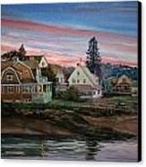 Annisquam River Canvas Print by Peter Sit
