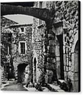 Another Residence In Childhood Alba France Ardeche Canvas Print