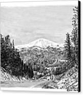 Apache Summit Siera Blanco Canvas Print by Jack Pumphrey